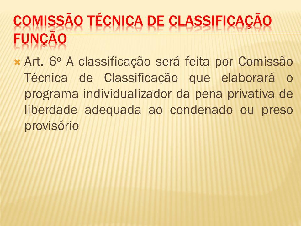 Comissão técnica de classificação função