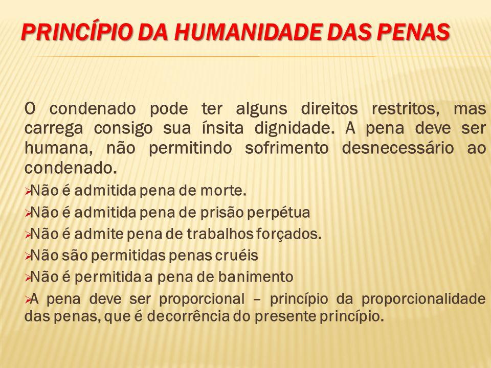 Princípio da humanidade das penas