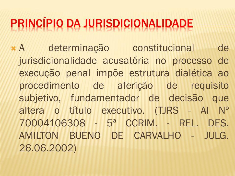 Princípio da Jurisdicionalidade
