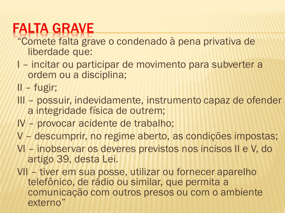 Falta Grave