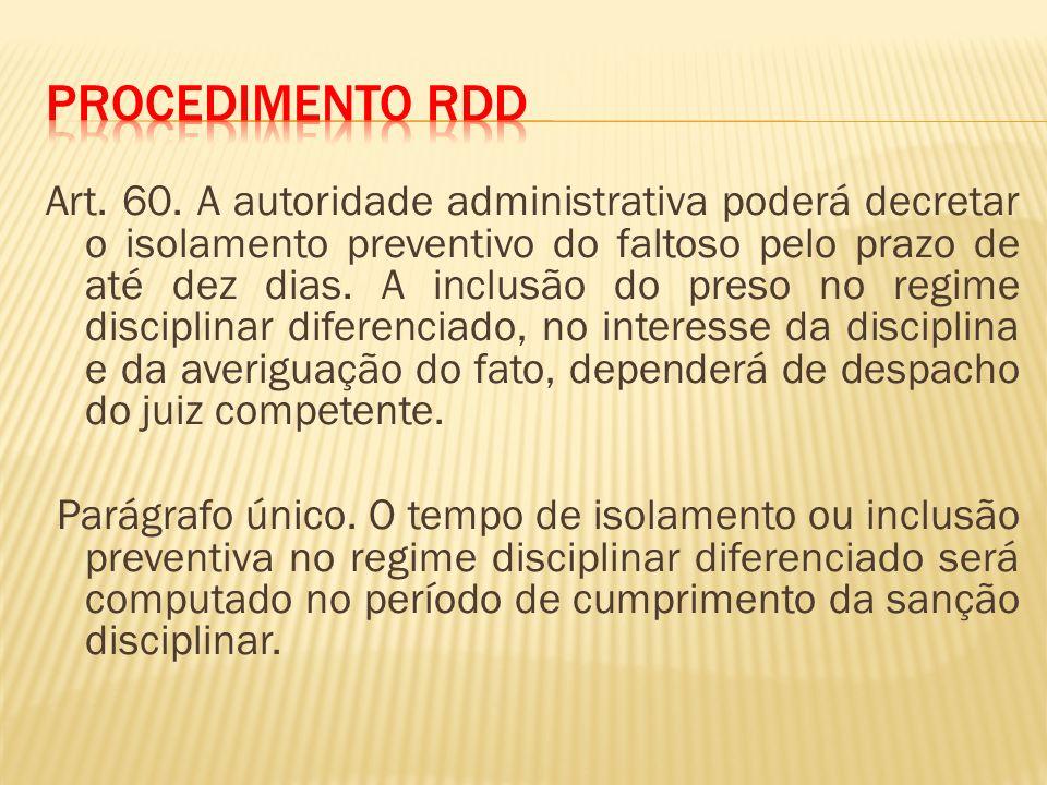 Procedimento RDD