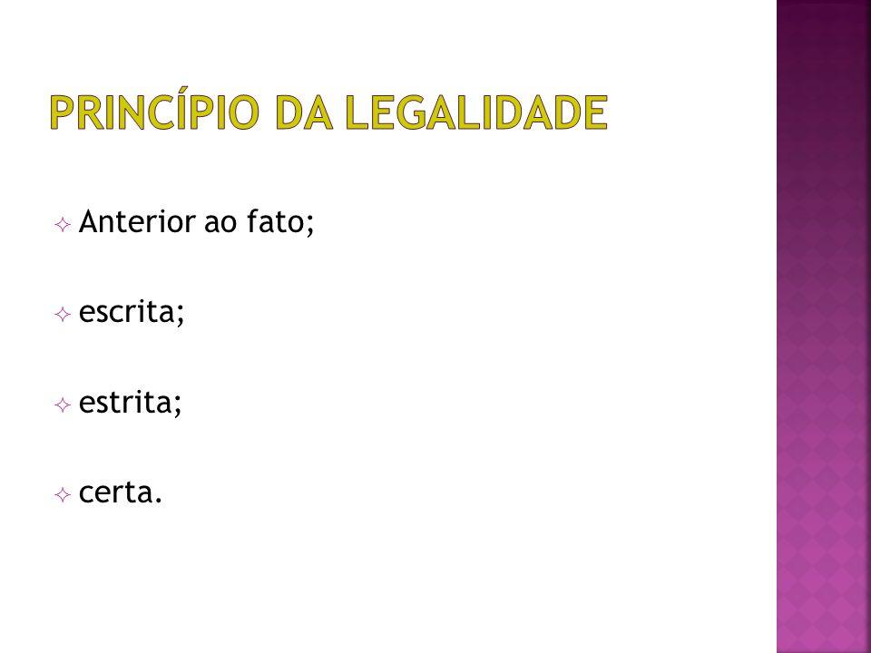 Princípio da legalidade