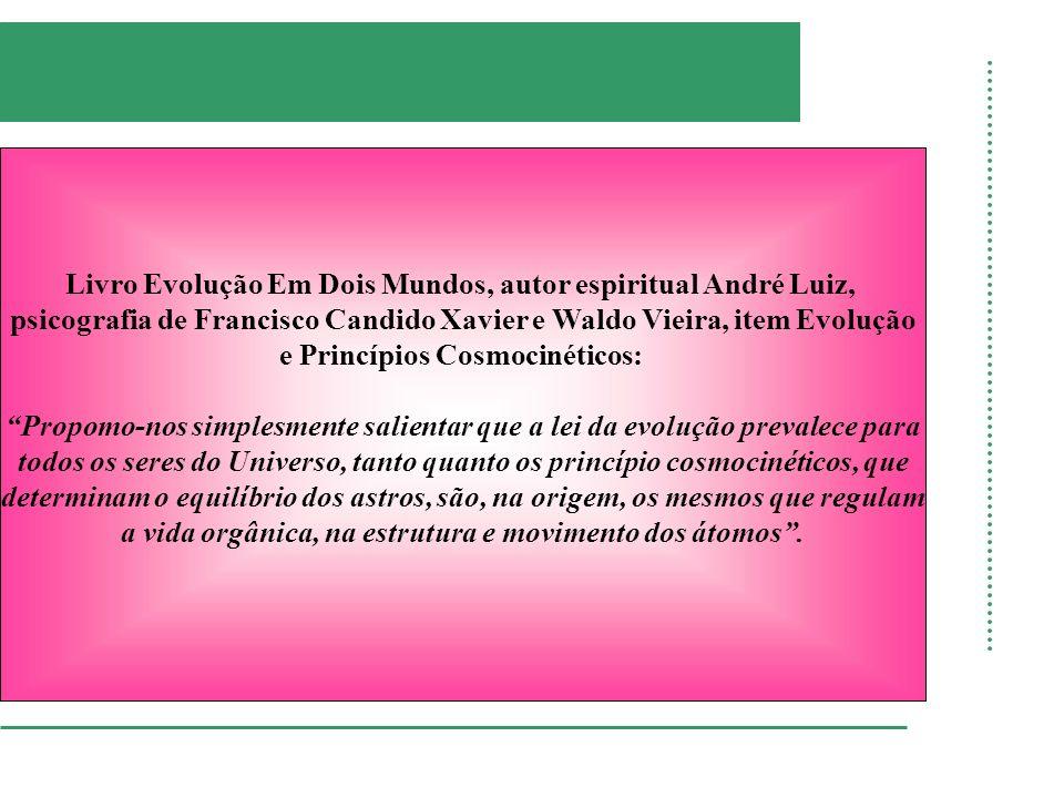 Livro Evolução Em Dois Mundos, autor espiritual André Luiz,