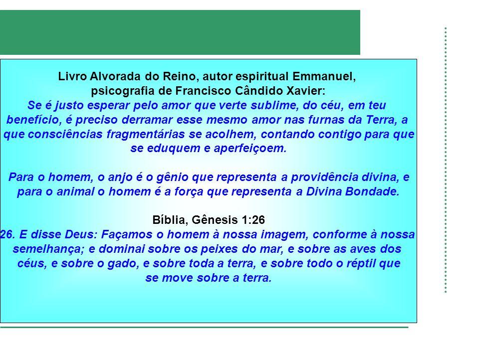 Livro Alvorada do Reino, autor espiritual Emmanuel,