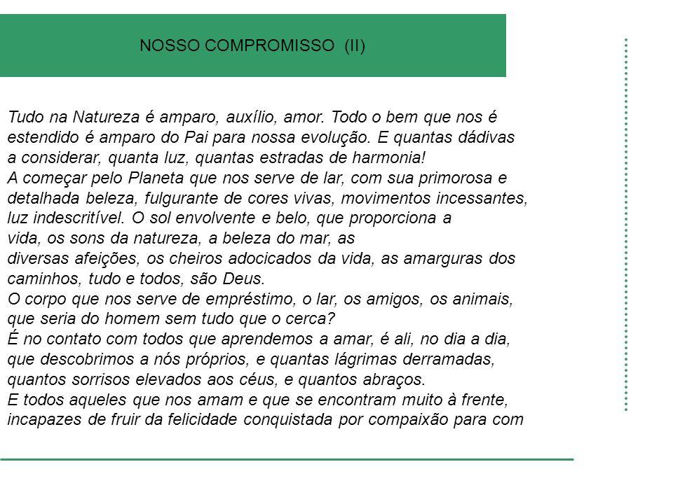 NOSSO COMPROMISSO (II)
