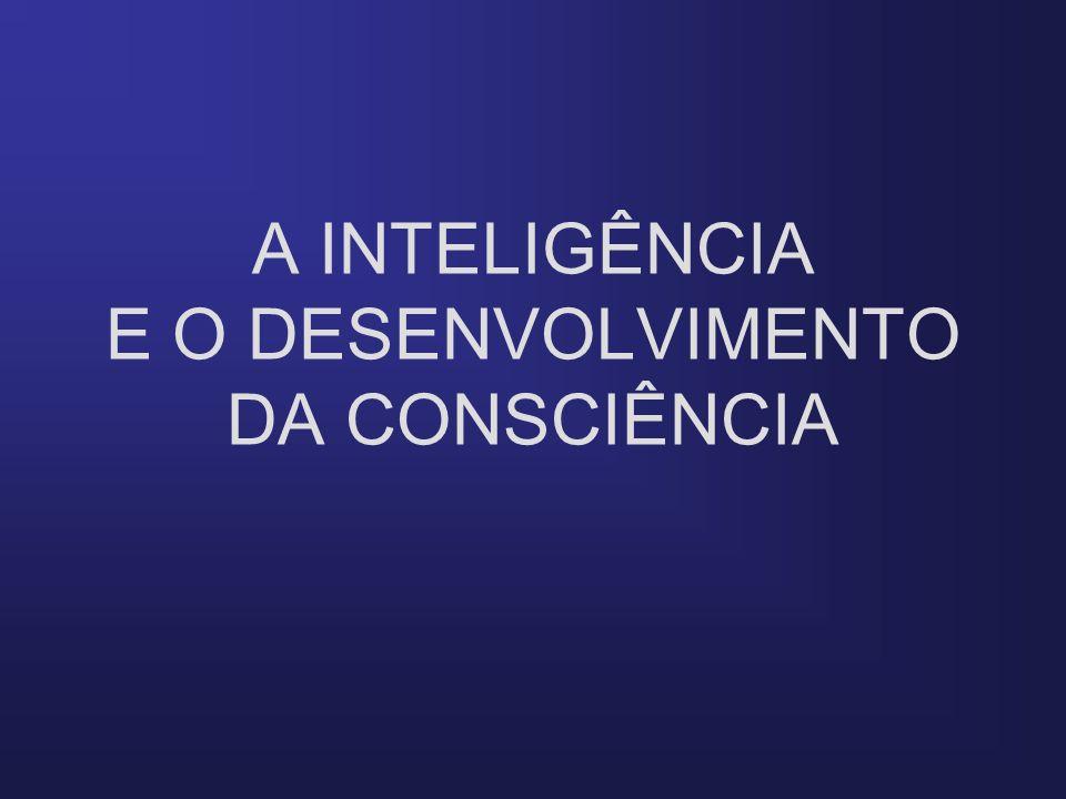 A INTELIGÊNCIA E O DESENVOLVIMENTO DA CONSCIÊNCIA