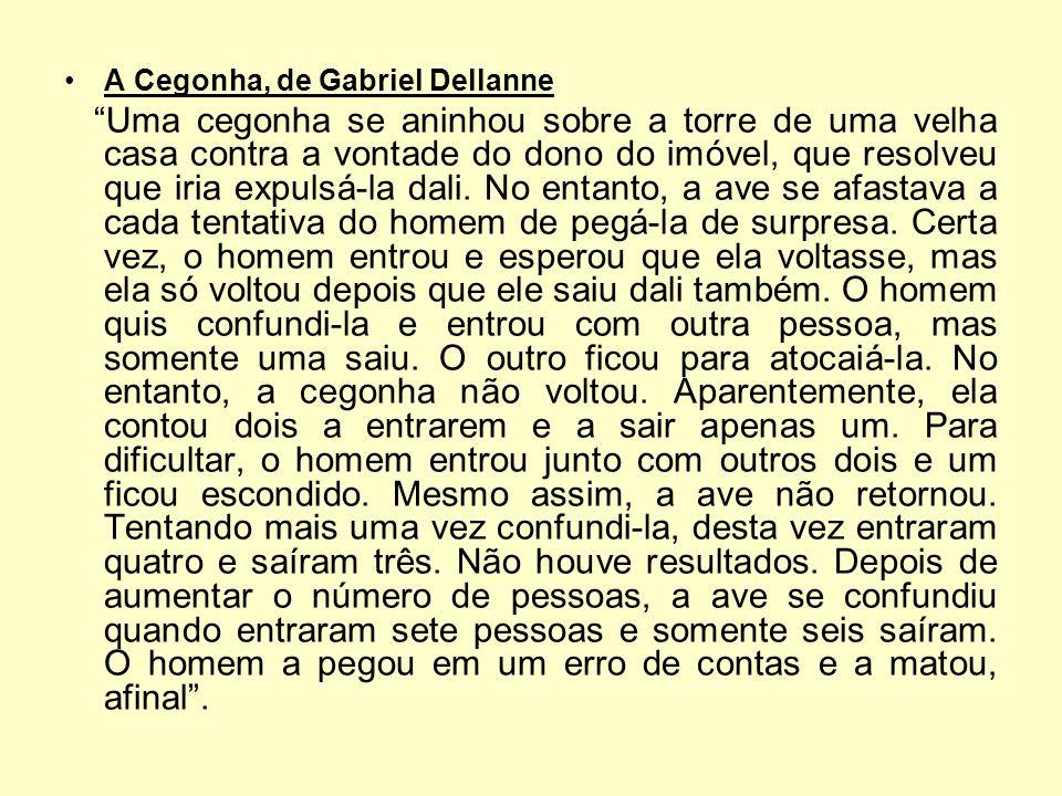 A Cegonha, de Gabriel Dellanne