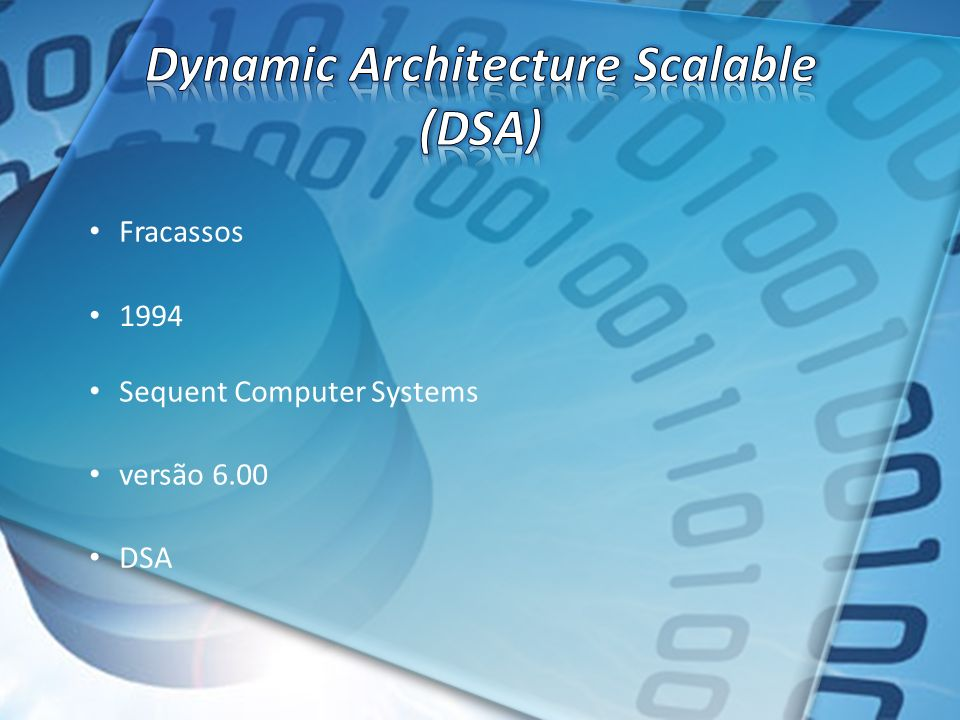 Dynamic Architecture Scalable (DSA)