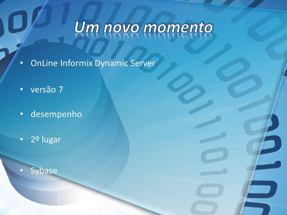 Um novo momento OnLine Informix Dynamic Server versão 7 desempenho