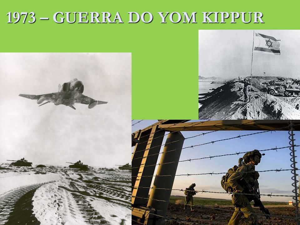 1973 – GUERRA DO YOM KIPPUR