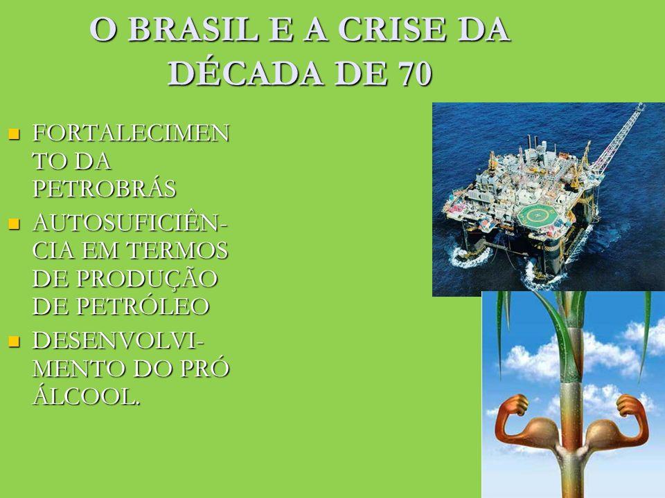 O BRASIL E A CRISE DA DÉCADA DE 70