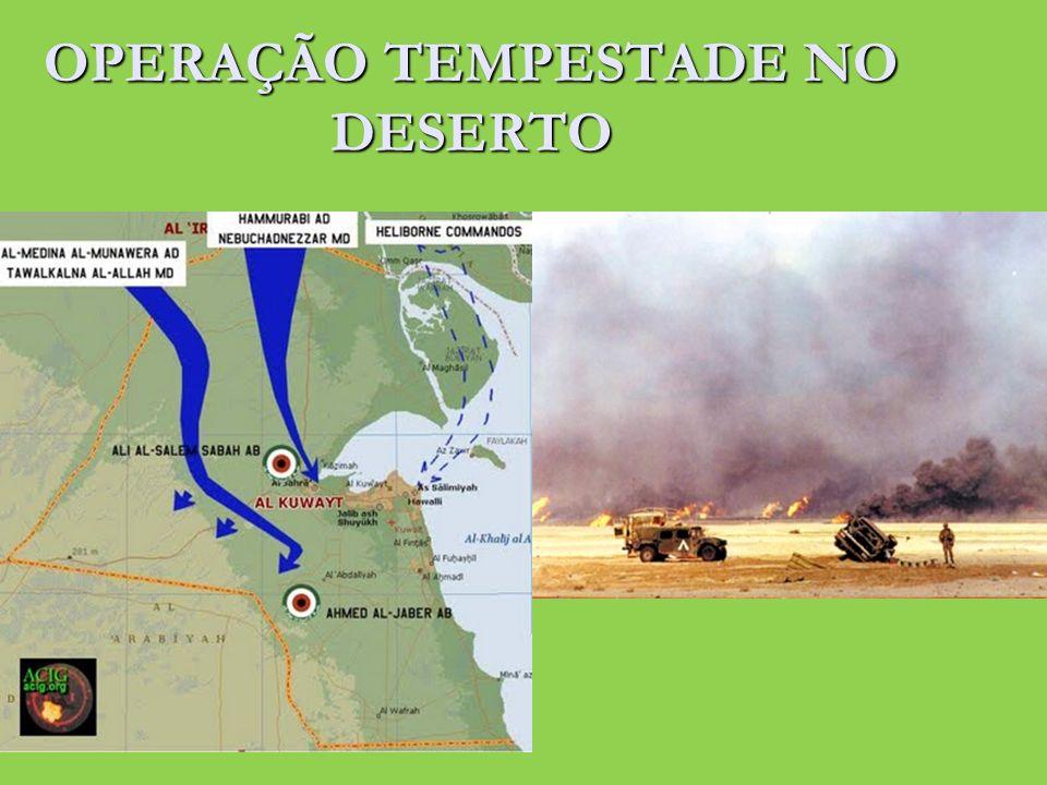 OPERAÇÃO TEMPESTADE NO DESERTO