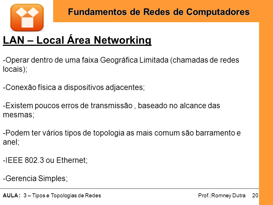 LAN – Local Área Networking