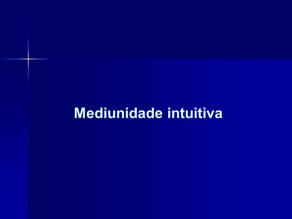 Mediunidade intuitiva