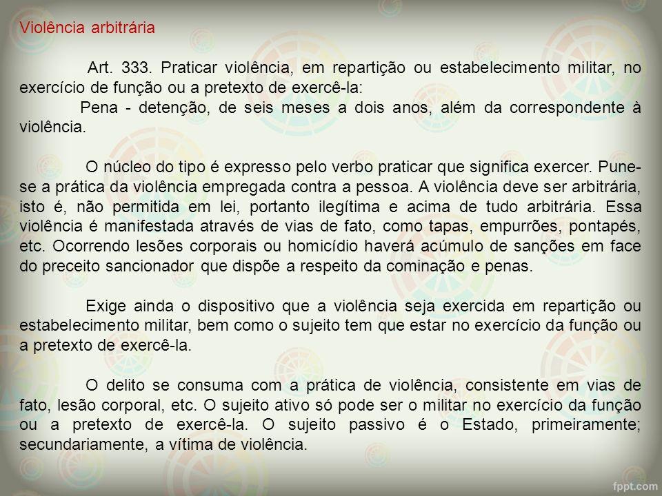 Violência arbitrária