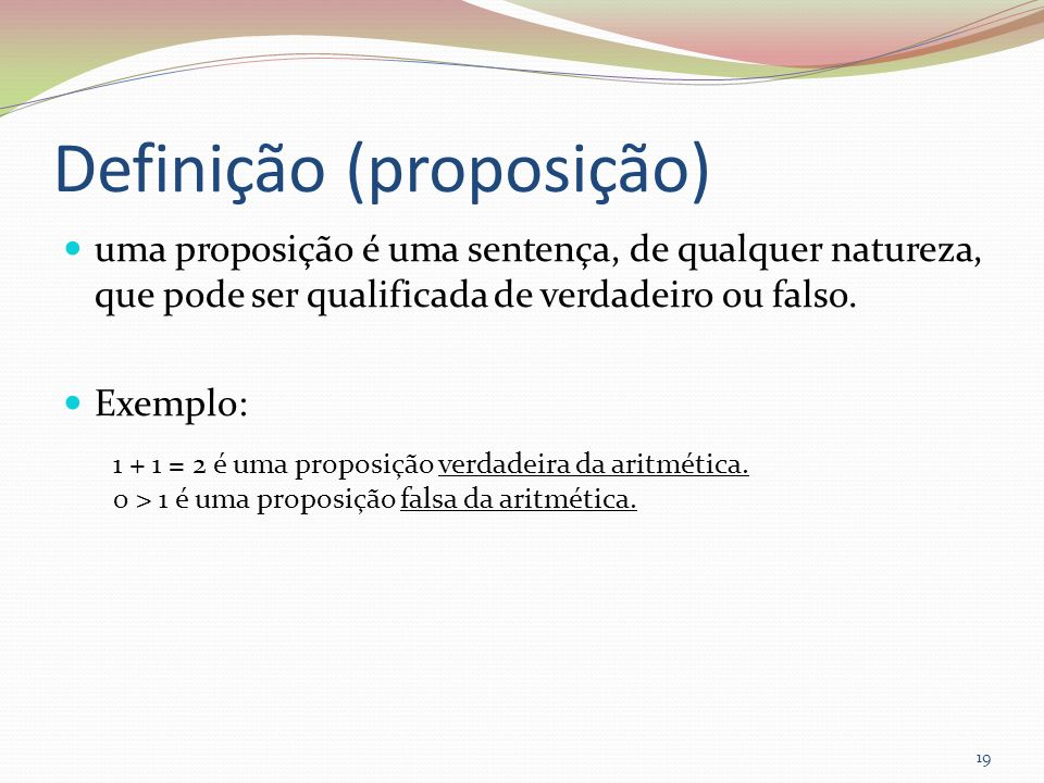 Definição (proposição)