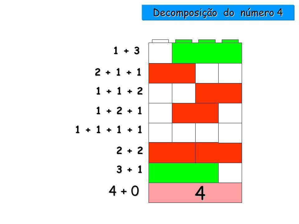 Decomposição do número 4