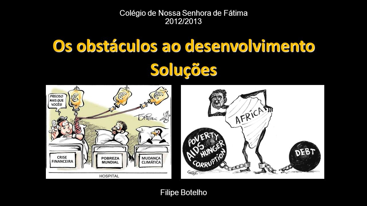 Colégio de Nossa Senhora de Fátima 2012/2013