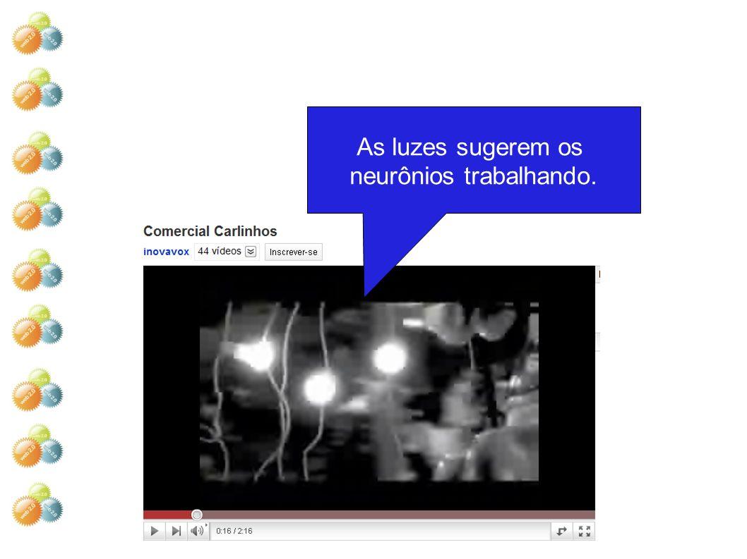 neurônios trabalhando.
