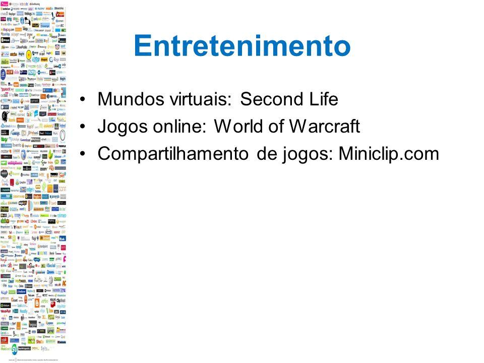 Entretenimento Mundos virtuais: Second Life