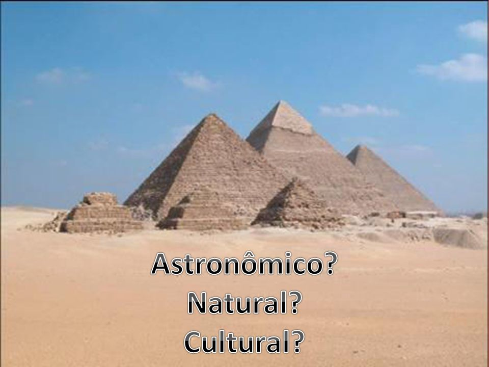 Astronômico Natural Cultural
