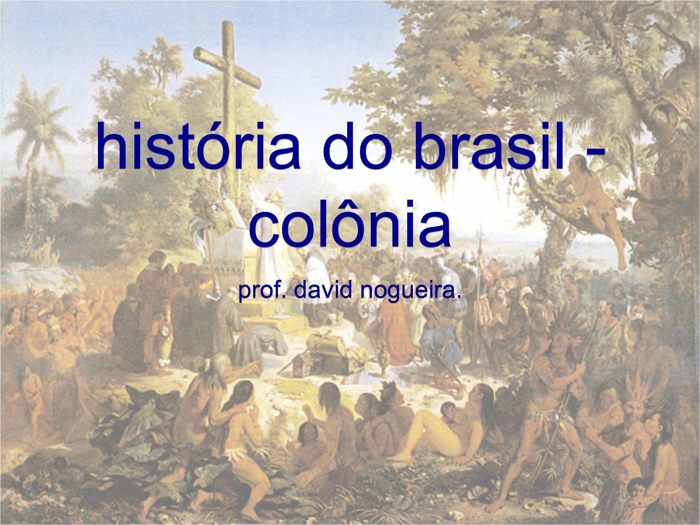 história do brasil - colônia