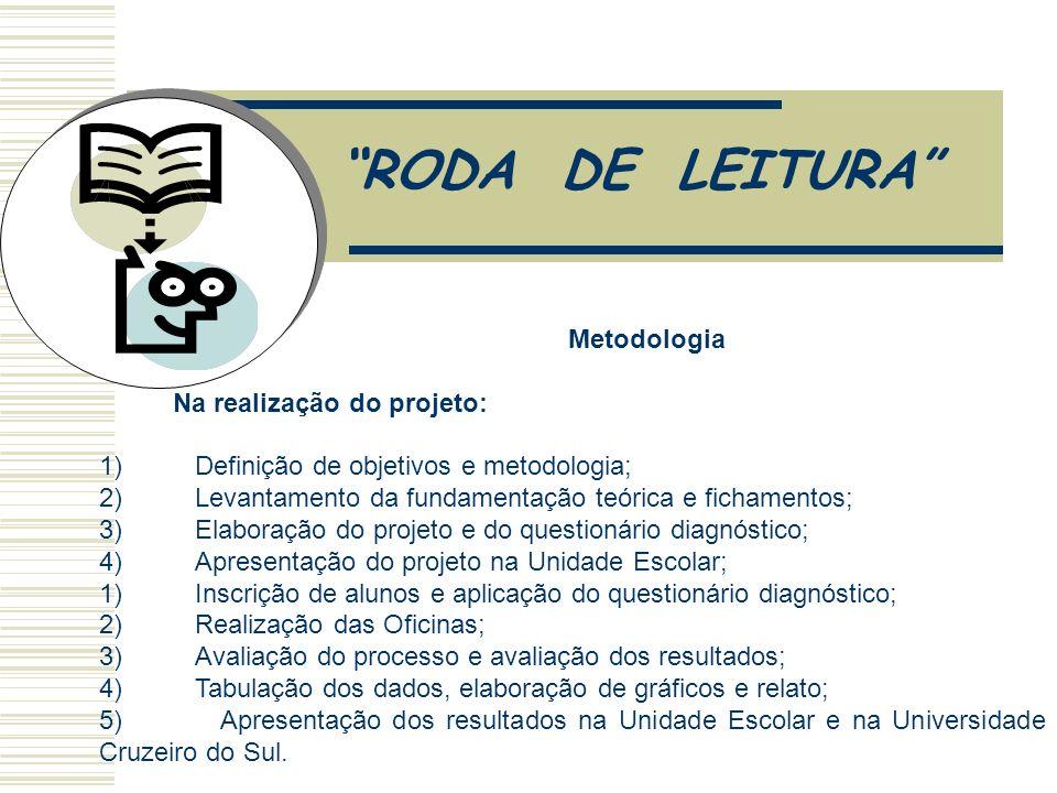 RODA DE LEITURA 3. Metas
