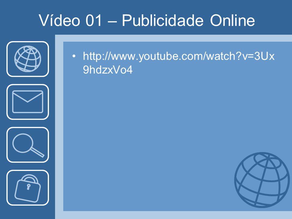 Vídeo 01 – Publicidade Online