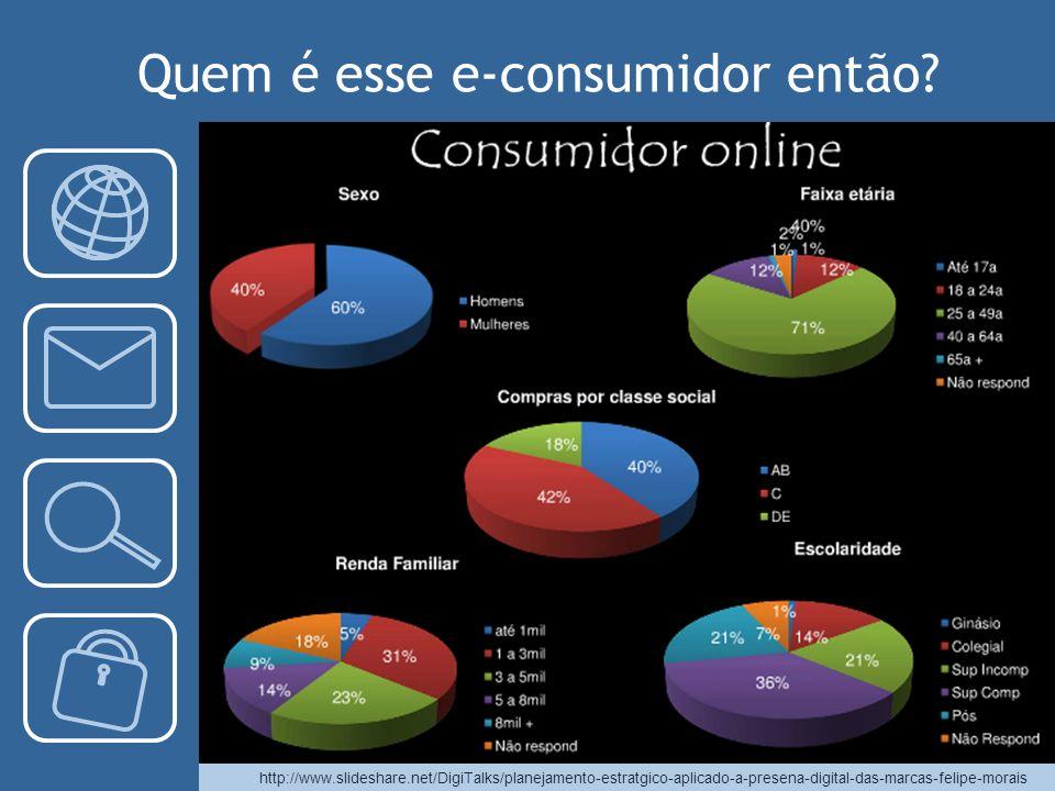 Quem é esse e-consumidor então