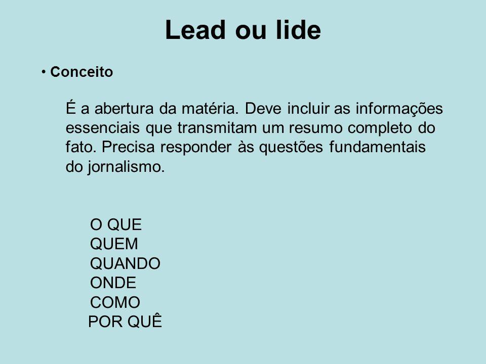 Lead ou lideConceito.