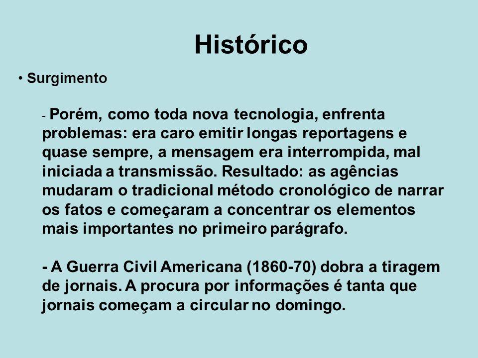 Histórico Surgimento.
