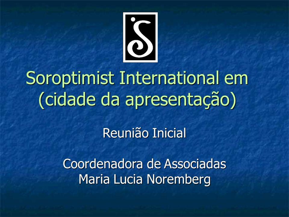 Soroptimist International em (cidade da apresentação)