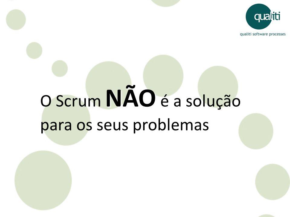 O Scrum NÃO é a solução para os seus problemas