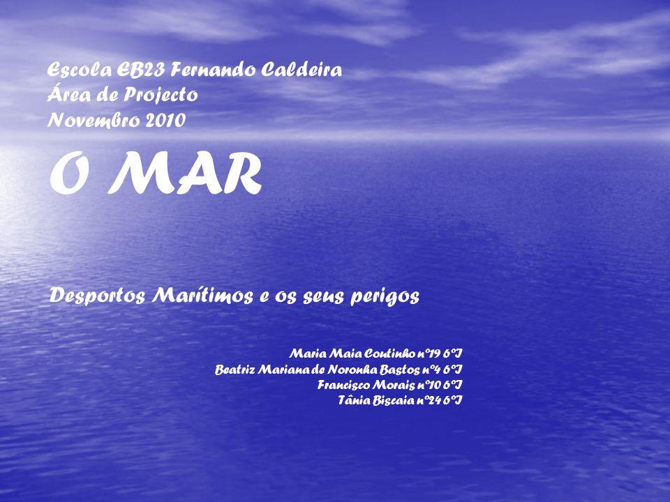 Escola EB23 Fernando Caldeira Área de Projecto Novembro 2010 O MAR