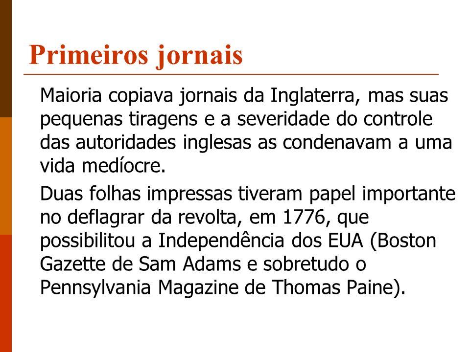 Primeiros jornais