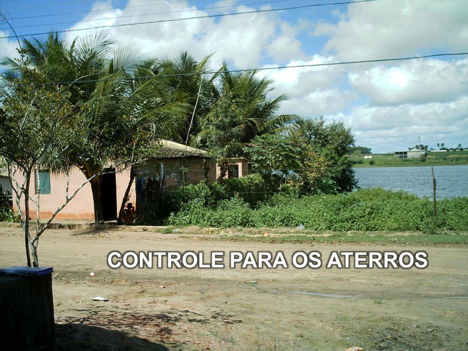 CONTROLE PARA OS ATERROS
