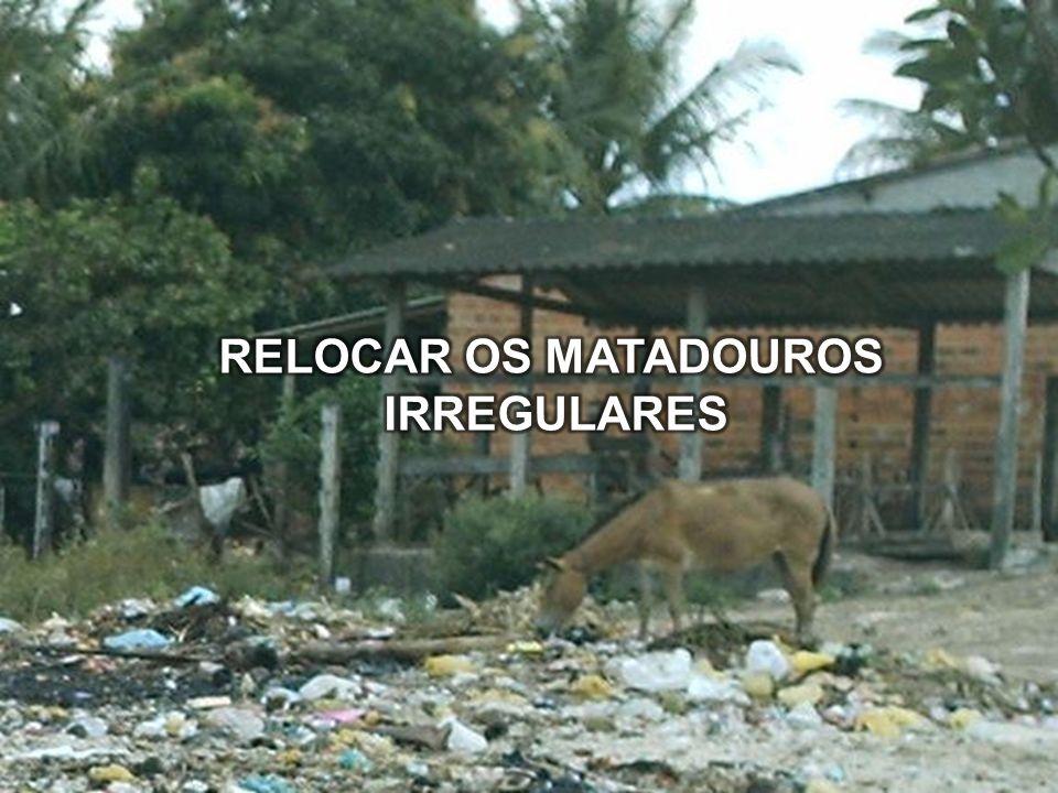 RELOCAR OS MATADOUROS IRREGULARES