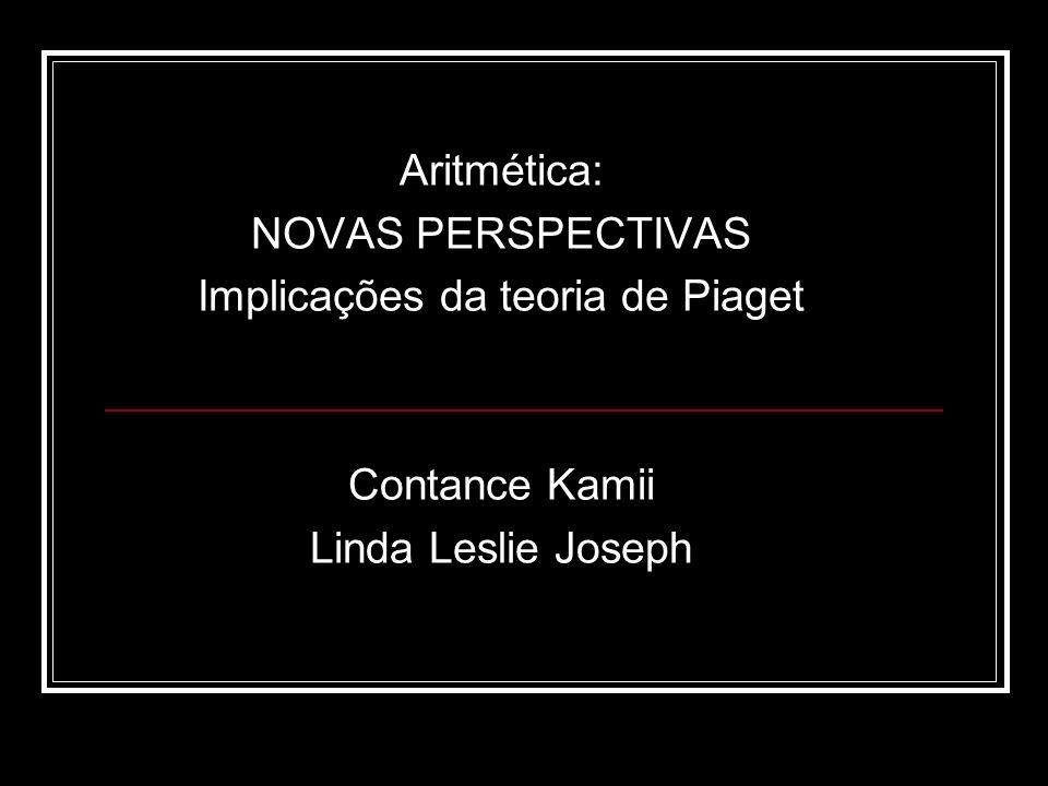 Implicações da teoria de Piaget
