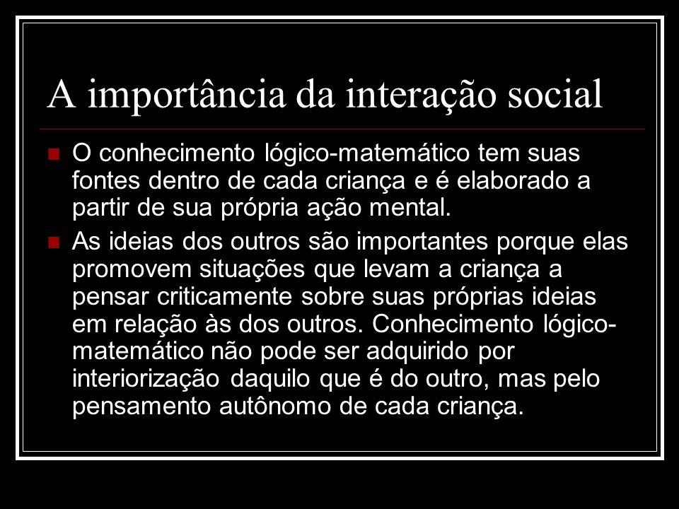 A importância da interação social