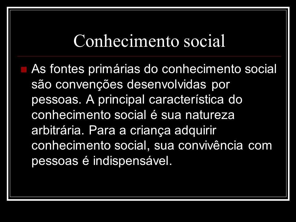 Conhecimento social