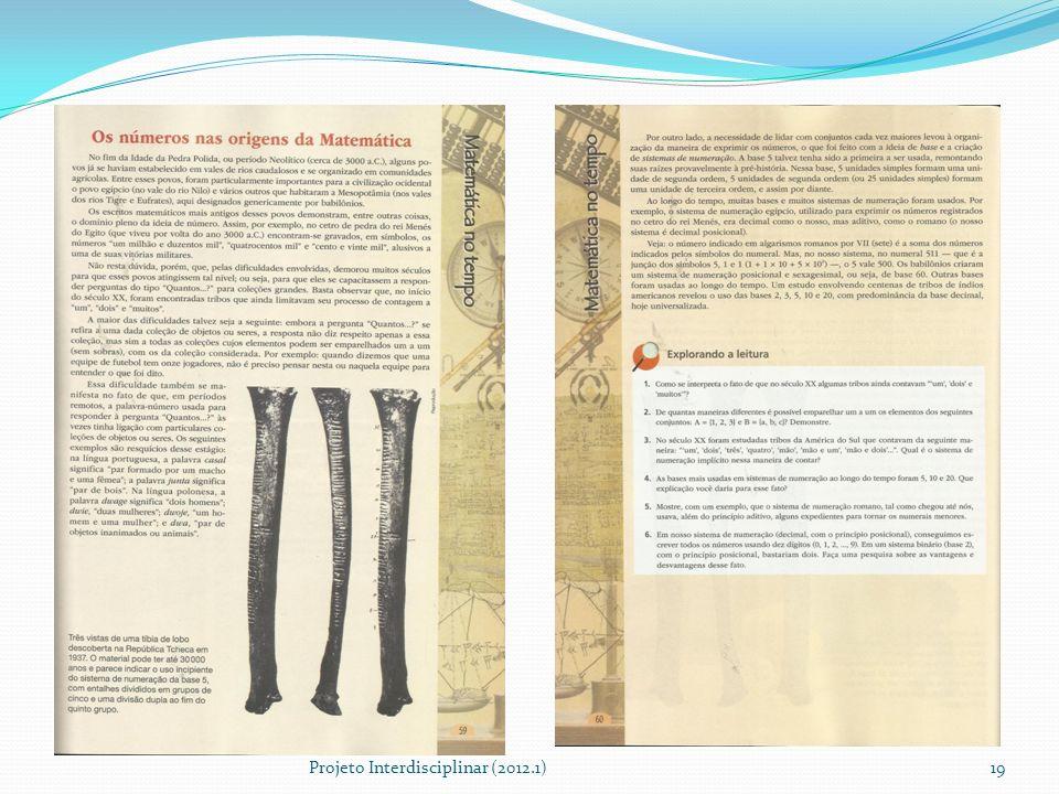 Projeto Interdisciplinar (2012.1)