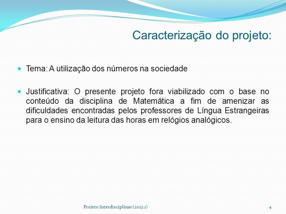 Caracterização do projeto: