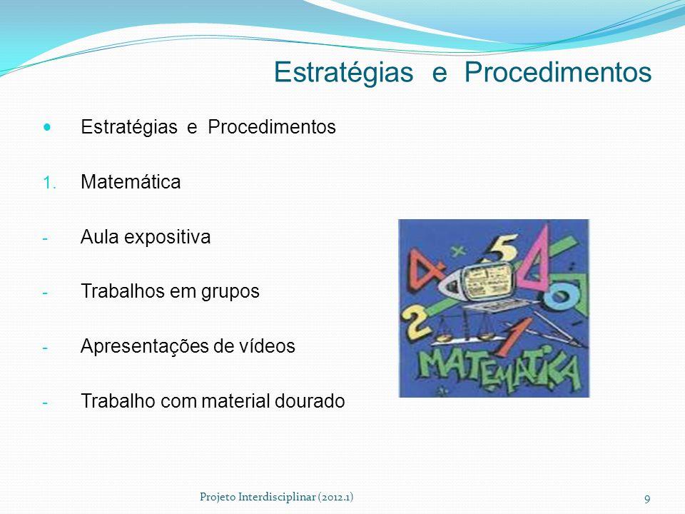 Estratégias e Procedimentos