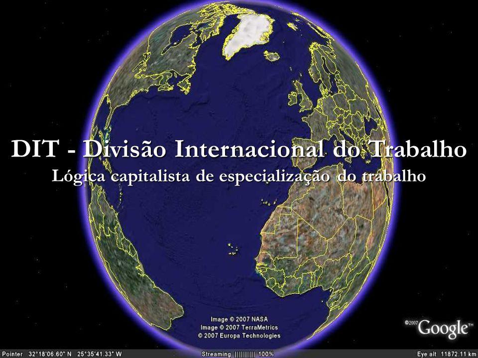 DIT - Divisão Internacional do Trabalho