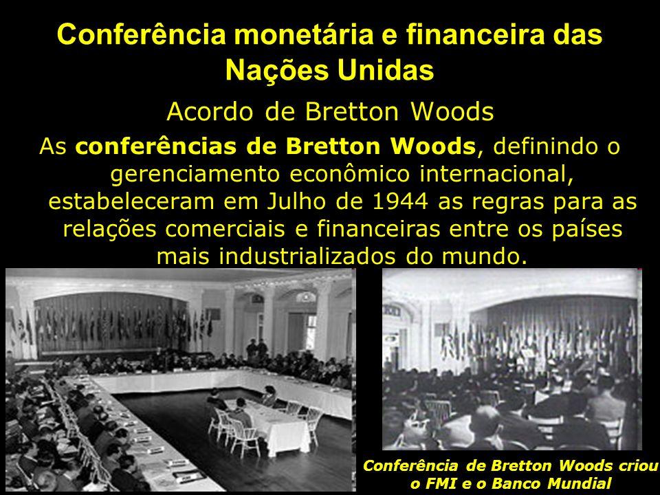 Conferência monetária e financeira das Nações Unidas