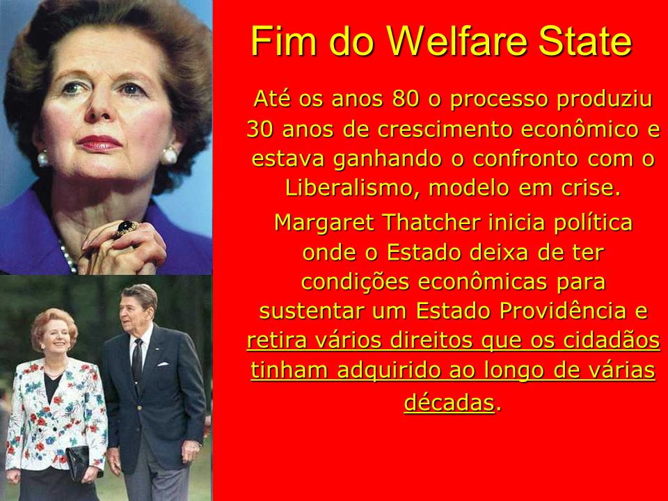 Fim do Welfare State