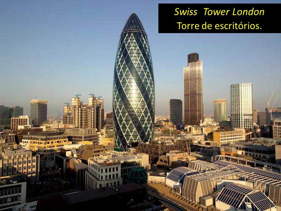 Swiss Tower London Torre de escritórios.