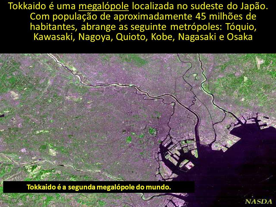 Tokkaido é a segunda megalópole do mundo.