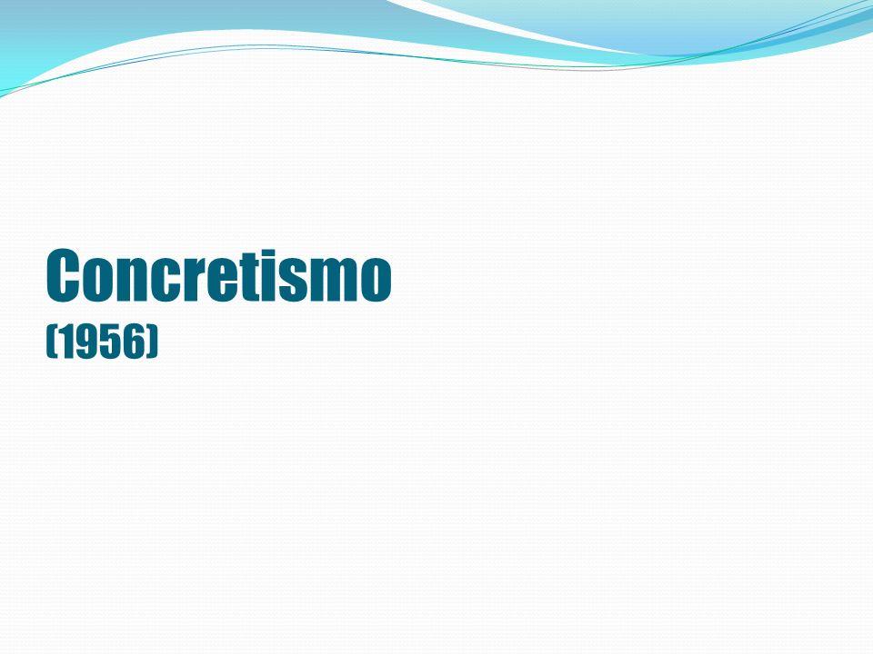 Concretismo (1956)