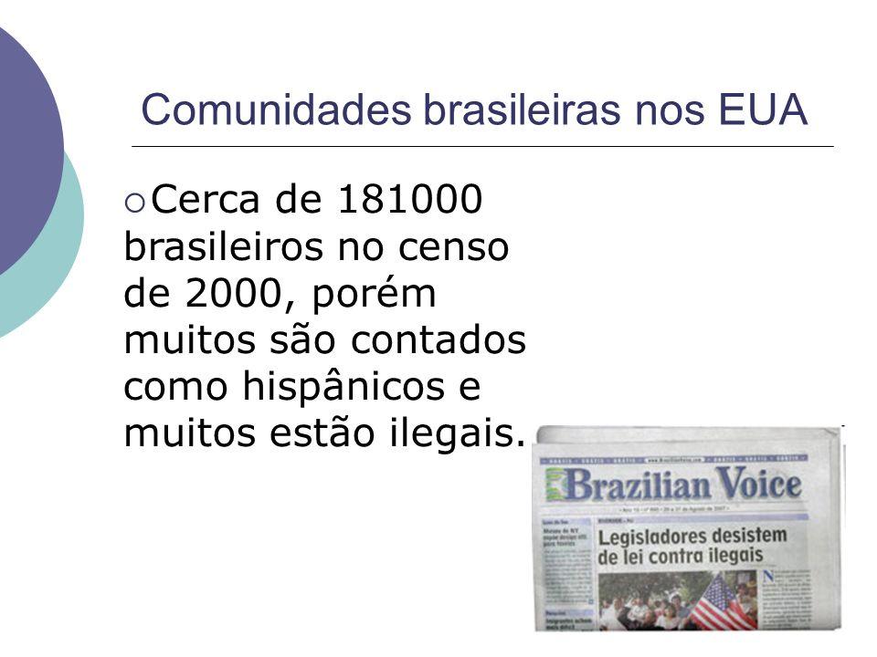 Comunidades brasileiras nos EUA